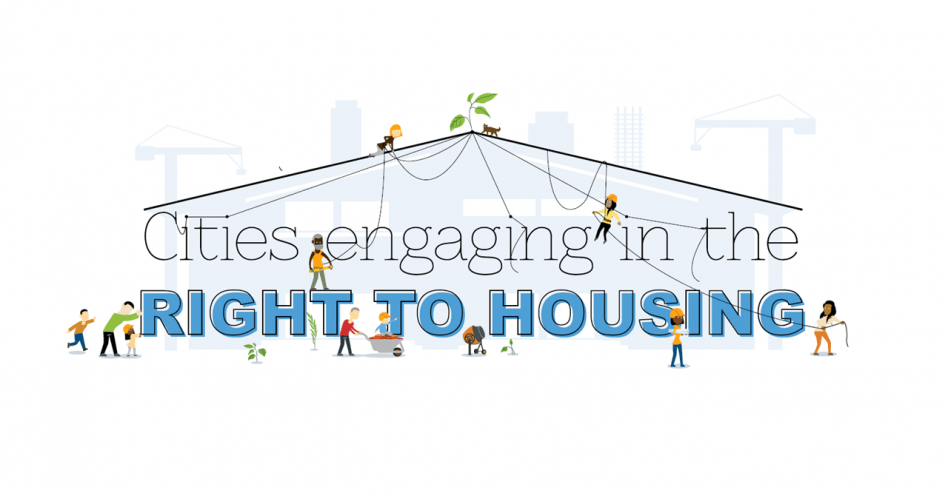 Cities engaging in the right to housing
